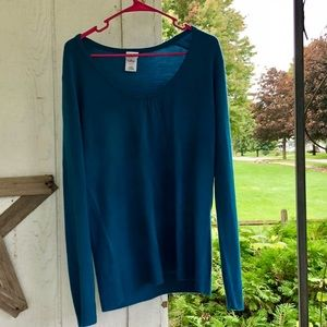 Just My Size 2X Blue Sweater 100% Acrylic